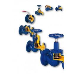 Трубопроводная арматура и предохранительные клапаны