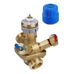 Автоматические комбинированные балансировочные клапаны АВ-QM